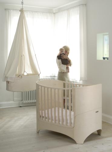 leander wiege wei himmel wei. Black Bedroom Furniture Sets. Home Design Ideas