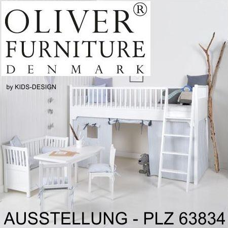 oliver furniture flaches regal mit 5 sektionen wei. Black Bedroom Furniture Sets. Home Design Ideas