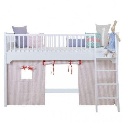 Seaside Oliver Furniture Vorhang Fur Halbhohes Hochbett Rosa
