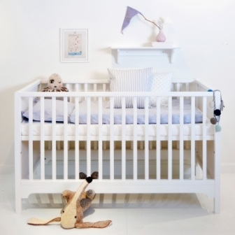 Seaside Oliver Furniture Baby- und Kinderbett - weiß