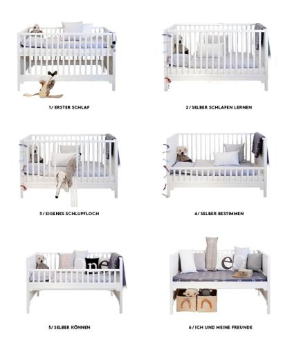 Seaside Oliver Furniture Baby- und Kinderbett - weiß - www.kids ...