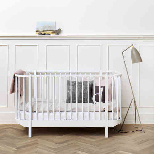 Wood Oliver Furniture Baby- und Kinderbett - weiß