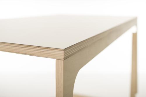 Tischplatte weiß  Sibis Vaclav - Tischplatte weiß laminiert - www.kids-design.de