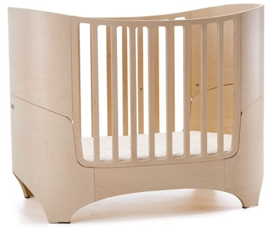 Leander Baby- und Juniorbett in white wash