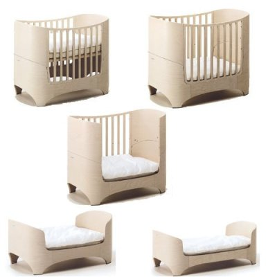 leander baby und juniorbett in white wash. Black Bedroom Furniture Sets. Home Design Ideas