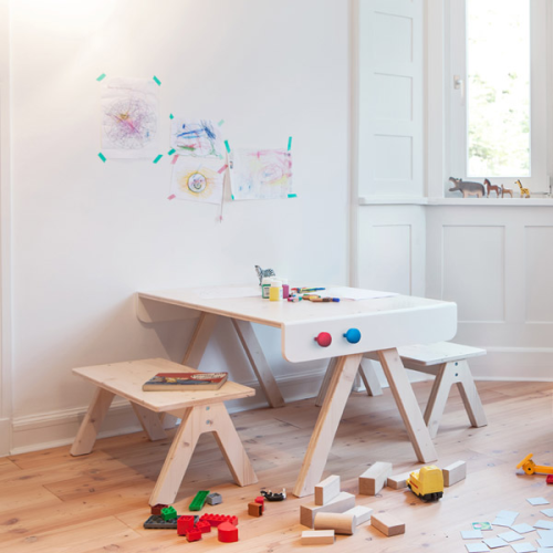 Kindertisch design simple ikea kindertisch with for Kindermobel set