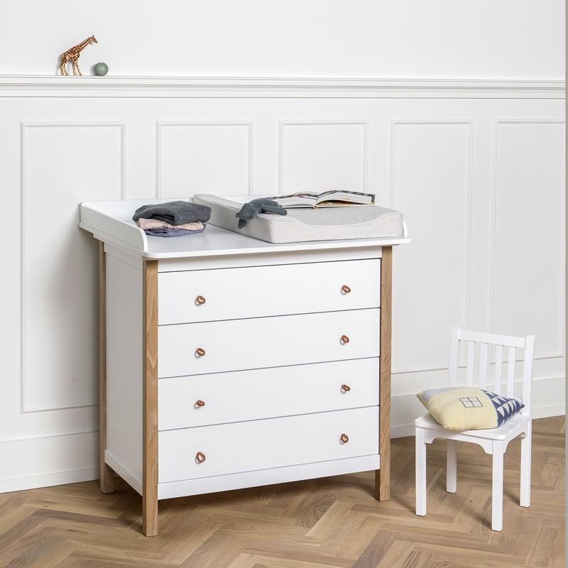 Wood Collection OF Wickelkommode Eiche Wwwkids Designde