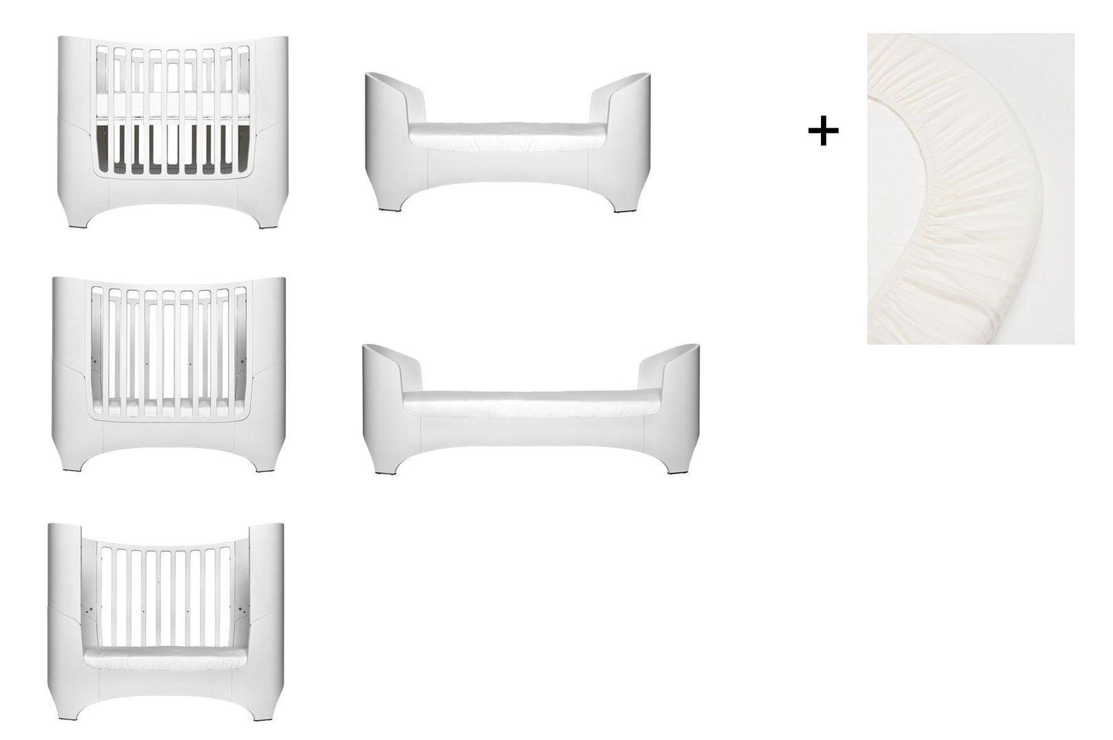 wei leander baby und juniorbett 1 set 2 st ck original spannbettt cher in der babygr e. Black Bedroom Furniture Sets. Home Design Ideas