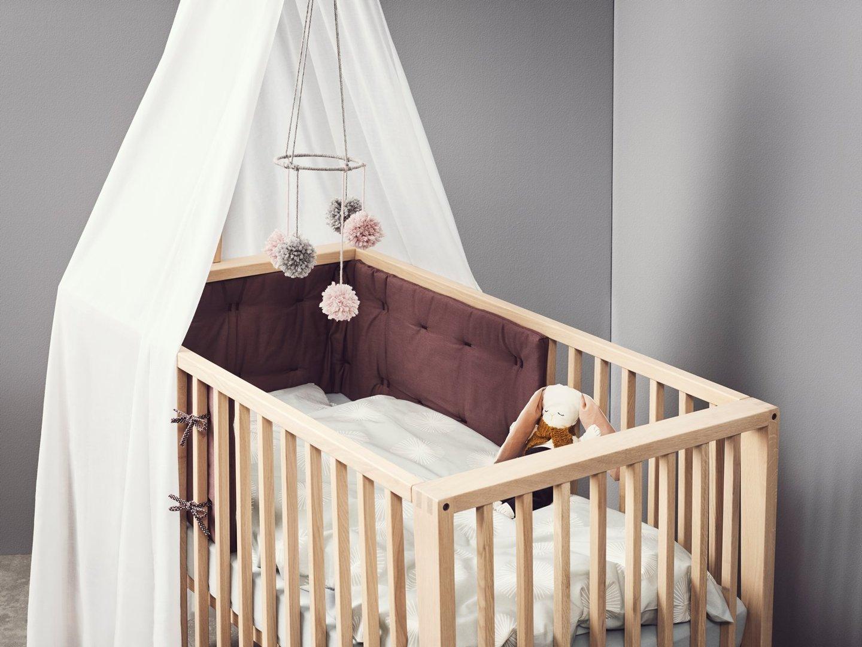 linea by leander nestchen f r babybett soft pink. Black Bedroom Furniture Sets. Home Design Ideas