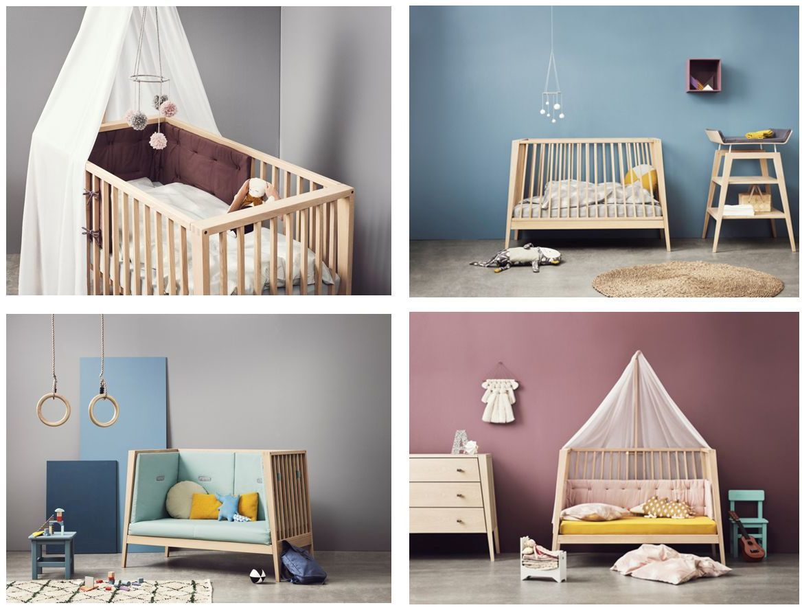 Ausstellungsst ck linea babybett eiche - Design babybett ...