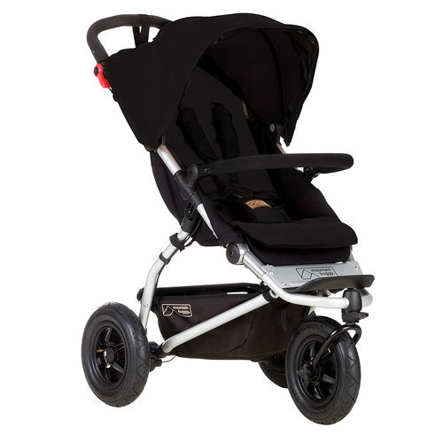 Mountain Buggy Swift 3 Dreirad - schwarz
