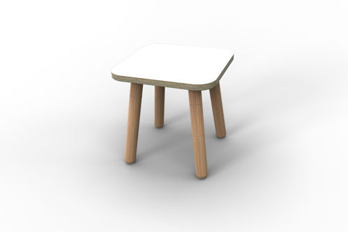 "Hocker für ""growing table"" - weiß"