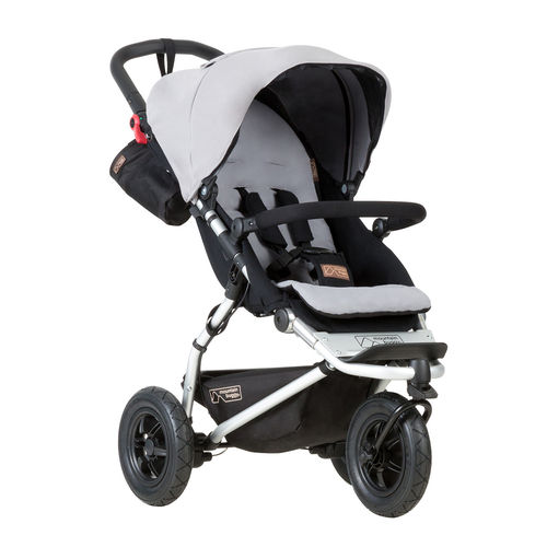 Mountain Buggy Swift 3 Dreirad - silber