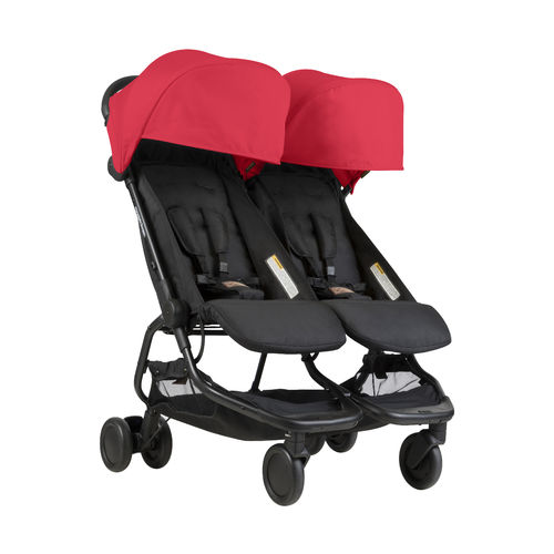 Mountain Buggy Nano Duo V1 - ruby