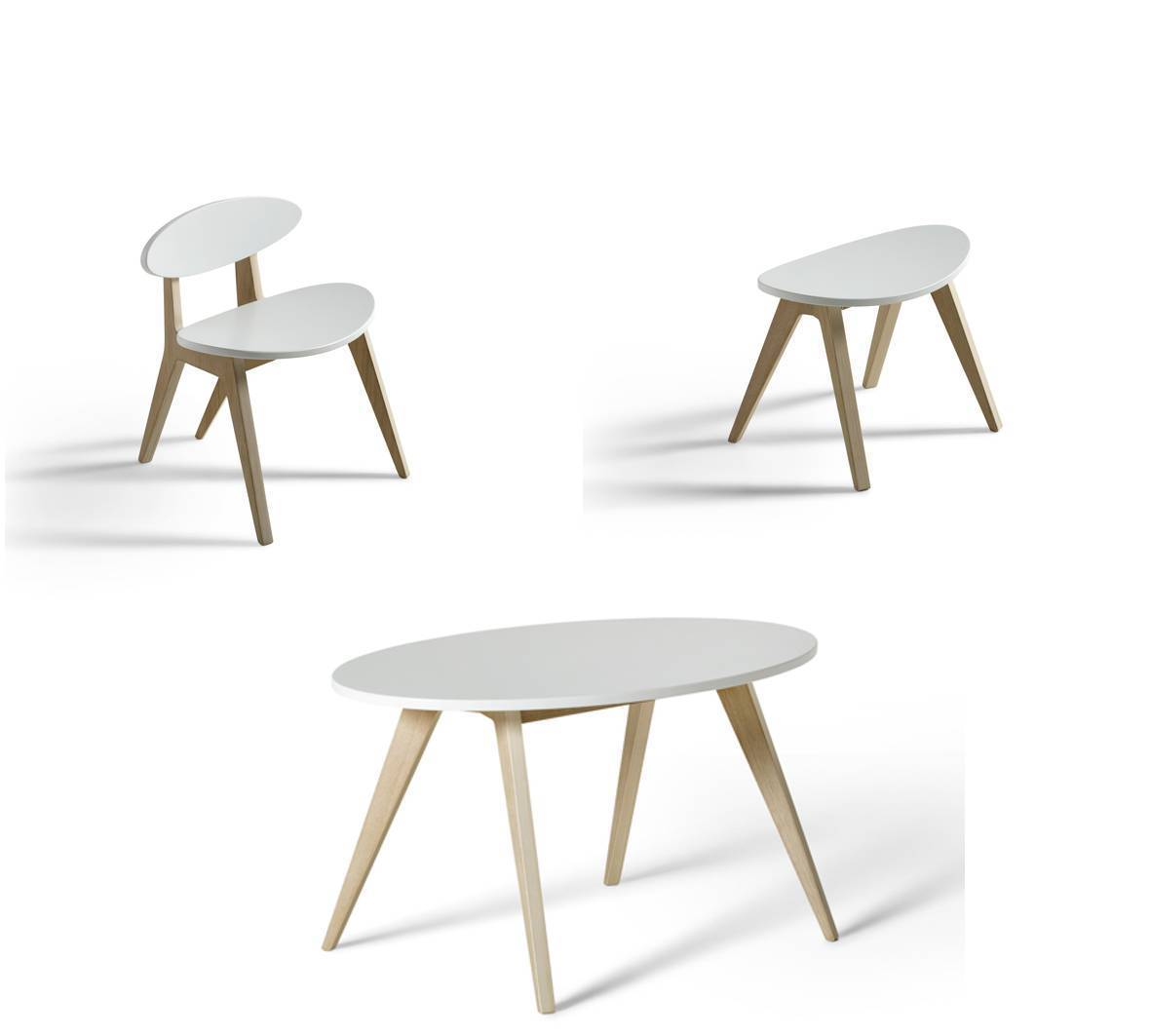 Ausstellungsstück Wood Pingpong Set Tischstuhlhocker Wwwkids
