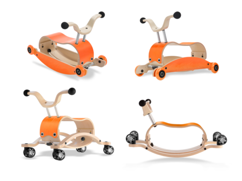 mini Flip Deluxe Bundle - orange