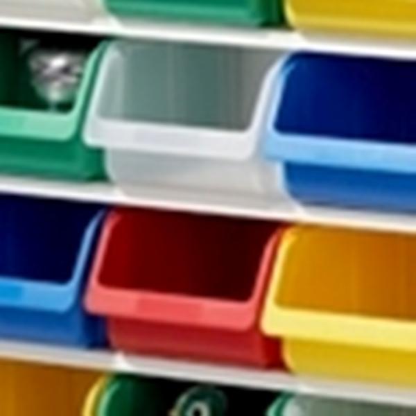 Kunststoffbox klein - transparent - www.kids-design.de